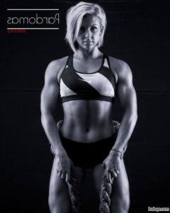 cute female with muscular body and muscle booty repost from linkedin