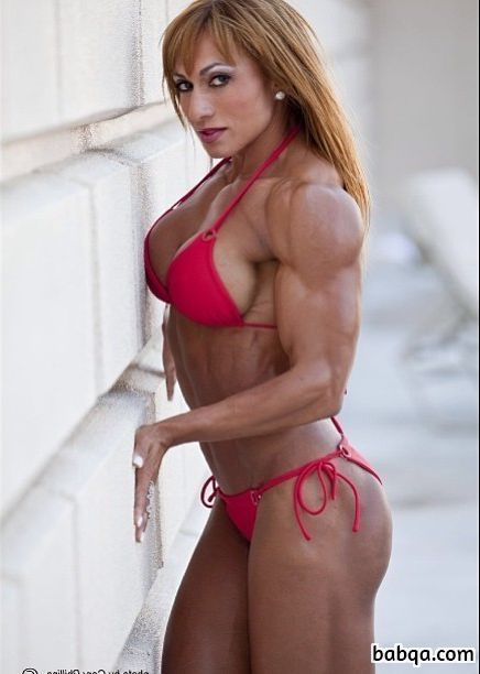 spicy lady with muscular body and toned legs photo from facebook