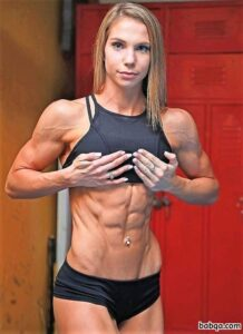 awesome female bodybuilder with muscle body and muscle ass image from tumblr