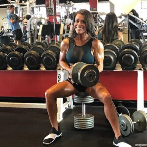 hot female bodybuilder with strong body and muscle biceps image from tumblr