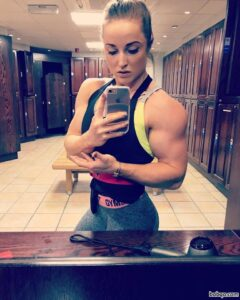 hot female bodybuilder with muscular body and muscle bottom repost from flickr