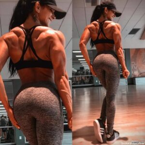 cute lady with strong body and toned booty image from linkedin