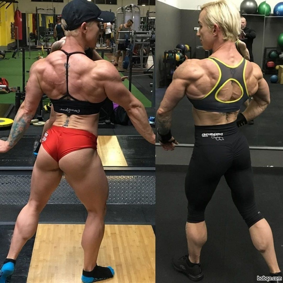 spicy lady with fitness body and muscle legs image from facebook