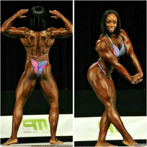 cute girl with strong body and toned biceps image from g+