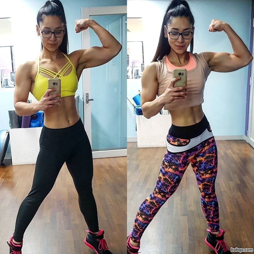hottest female with muscular body and muscle legs image from tumblr