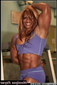 hottest lady with strong body and toned bottom post from tumblr