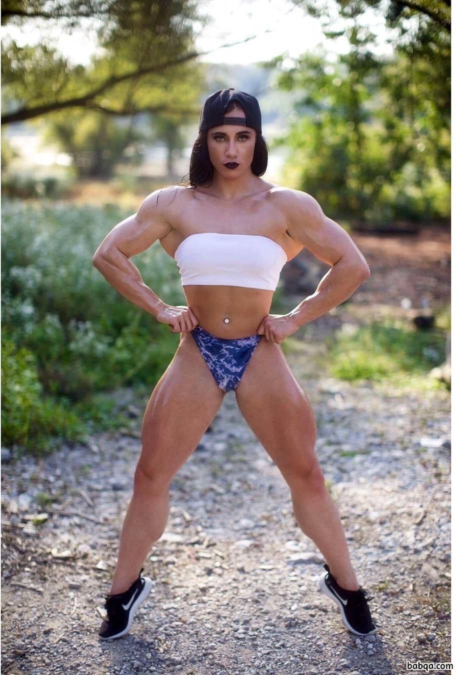 sexy girl with strong body and muscle ass photo from tumblr