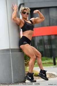 perfect female with strong body and toned arms pic from flickr