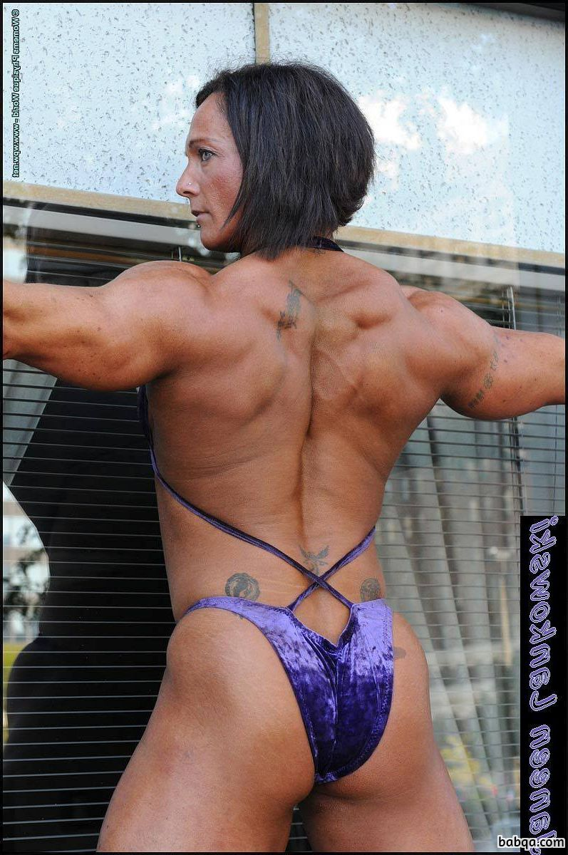 perfect female bodybuilder with muscle body and muscle ass picture from tumblr