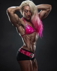 perfect female bodybuilder with muscular body and toned arms picture from reddit