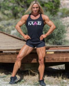 spicy lady with fitness body and muscle bottom picture from tumblr