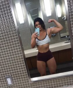 spicy female with muscular body and muscle bottom picture from tumblr