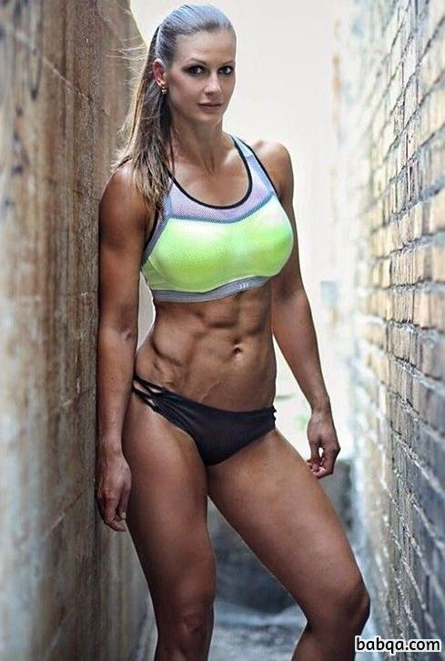 hot female with muscular body and muscle ass image from tumblr