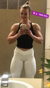 perfect babe with strong body and muscle ass post from tumblr