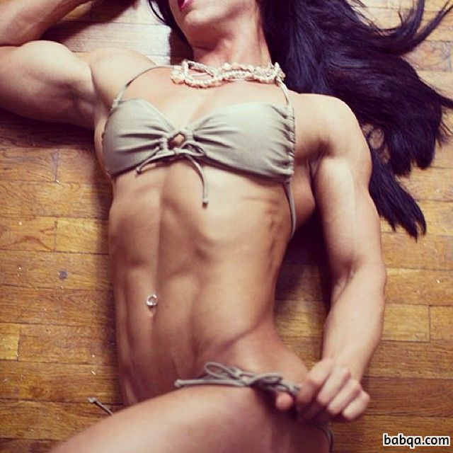 hot chick with muscle body and muscle bottom photo from linkedin