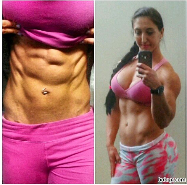 beautiful female with fitness body and toned arms image from reddit