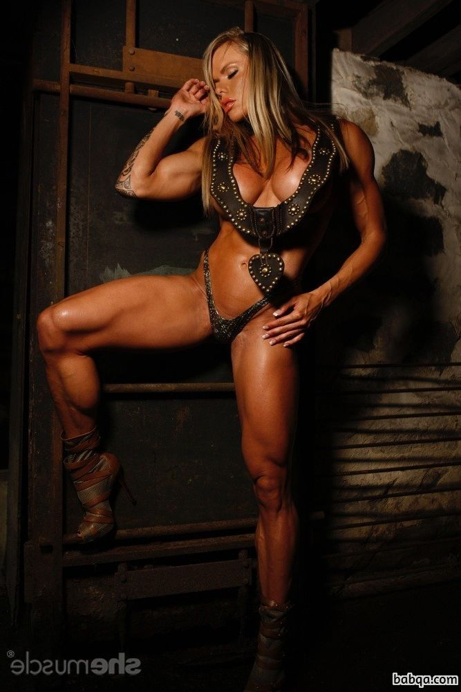 hottest female bodybuilder with muscular body and muscle legs image from linkedin