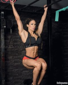 perfect female with strong body and toned arms repost from facebook