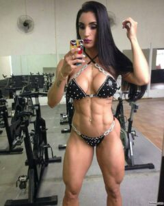 hottest girl with muscular body and muscle bottom picture from facebook