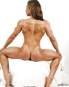 cute female bodybuilder with strong body and muscle booty repost from flickr