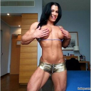 hottest girl with muscle body and muscle bottom pic from g+