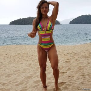 beautiful female with muscular body and toned bottom repost from linkedin
