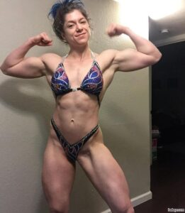 hottest female bodybuilder with muscular body and muscle ass pic from tumblr