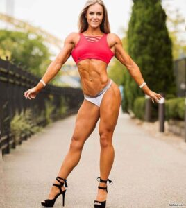 hottest chick with strong body and muscle legs repost from linkedin