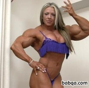 cute woman with muscular body and muscle bottom repost from linkedin