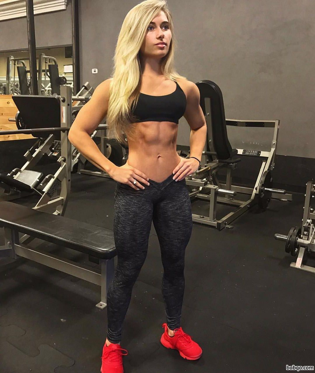 sexy female bodybuilder with muscle body and muscle ass pic from tumblr