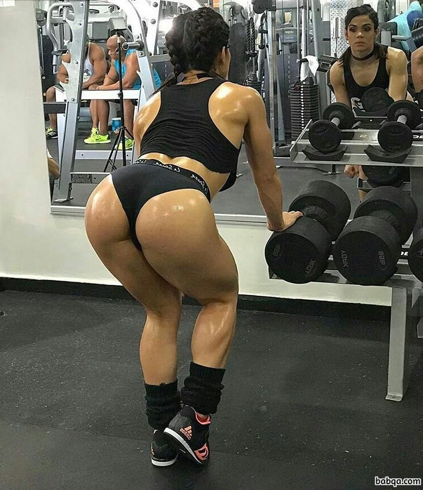perfect girl with muscular body and muscle bottom pic from facebook