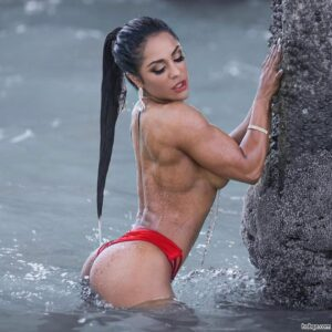 spicy girl with muscle body and muscle ass image from insta