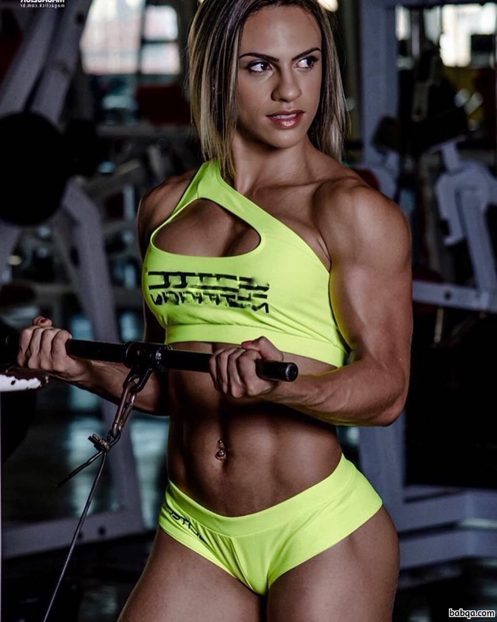 spicy female with strong body and muscle legs picture from flickr