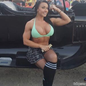 hottest female bodybuilder with muscle body and toned ass pic from tumblr