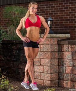 sexy lady with muscular body and muscle legs post from tumblr